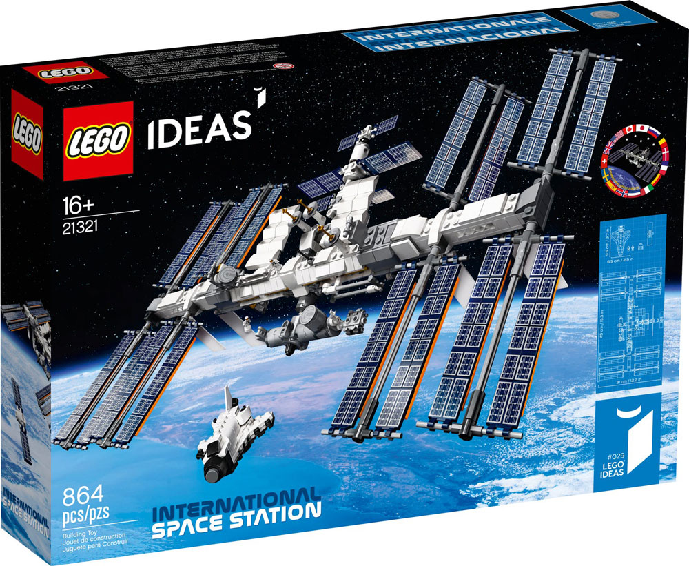 Lego Ideas International Space Station 21321 Box