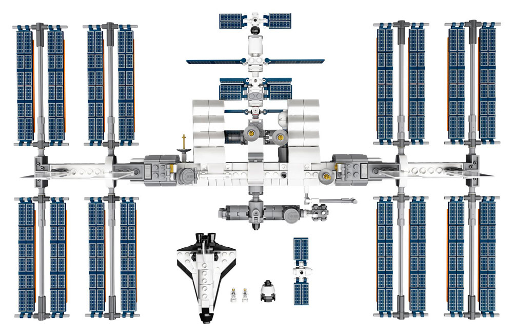 Lego Ideas International Space Station Details