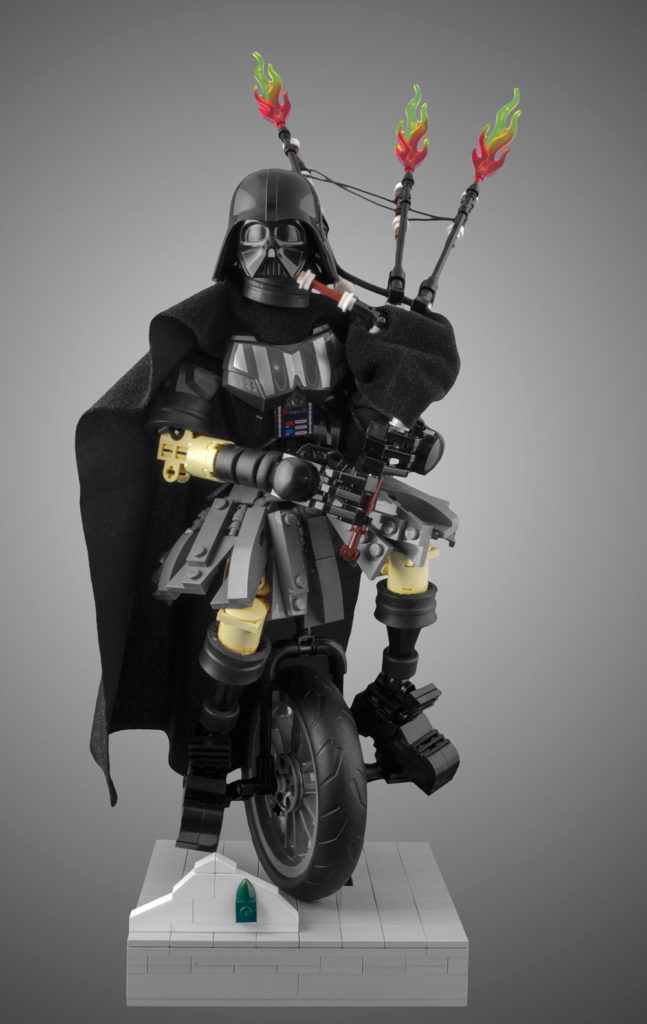 Lego Darth Vader Welcomes You To Portland