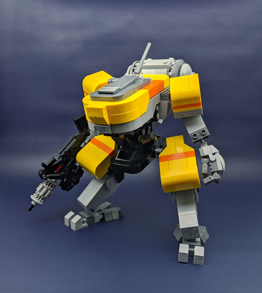 Yellow Jackrabbit Lego Mech