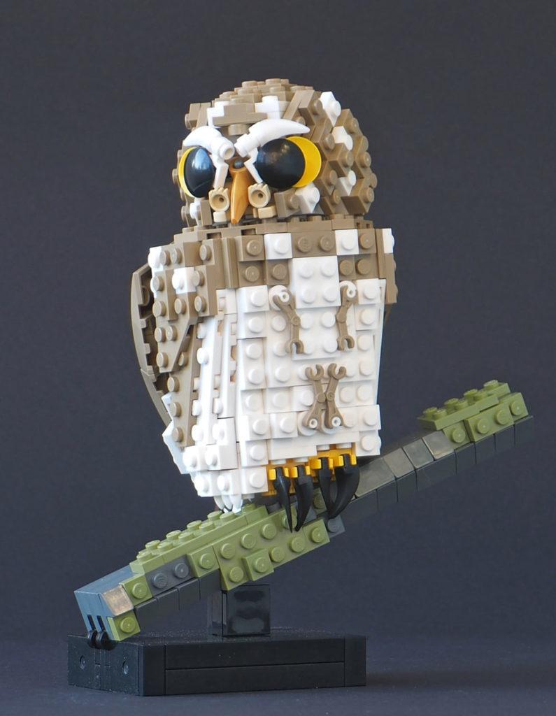 Eurasian Pygmy Lego Owl