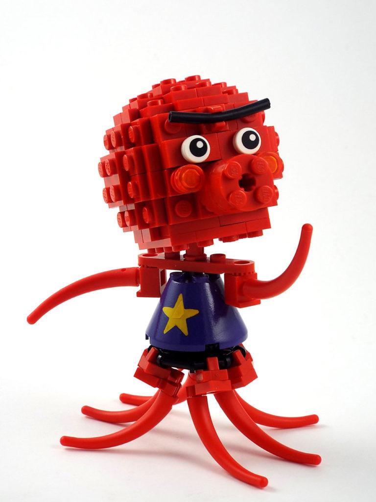 Octavian, A Lego Animal Crossing Villager MOC