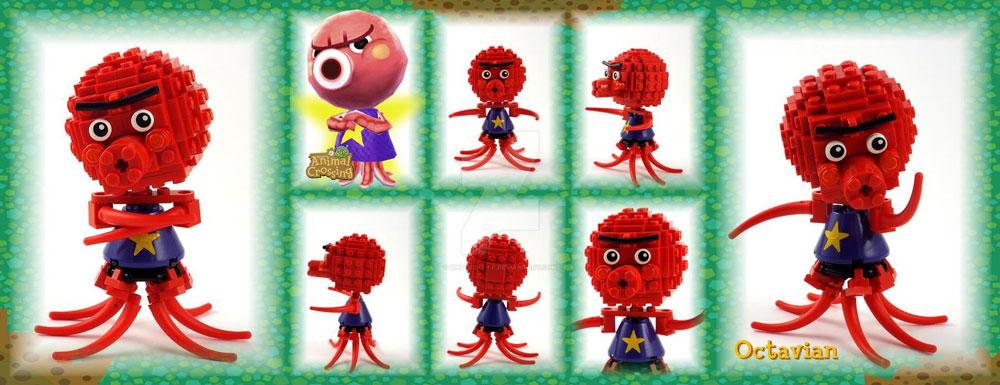 Lego Octavian from Animal Crossing