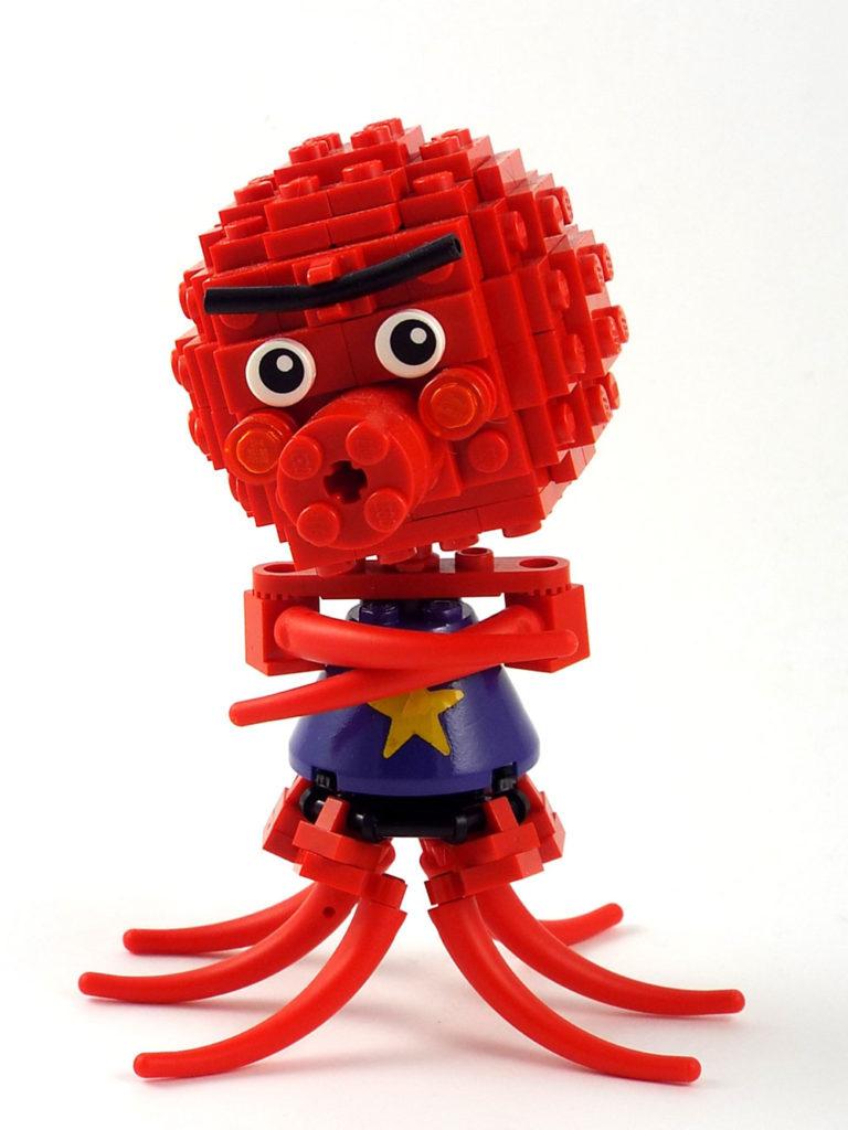 Octavian, An Animal Crossing Lego Villager MOC