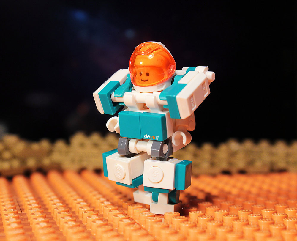 Life On Mars With Elon, A Lego Spaceman