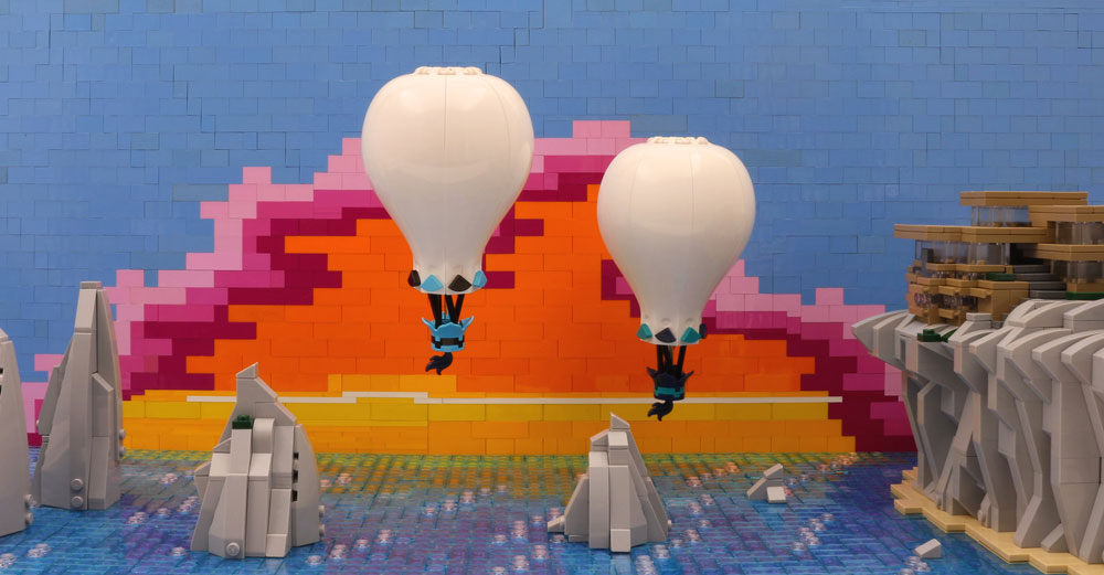 Let's Float Away, Lego Sunset