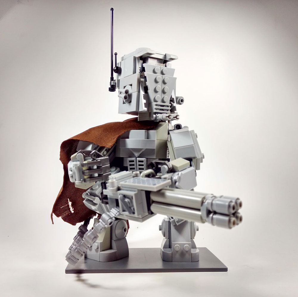 The Titan, A Lego AT-ST