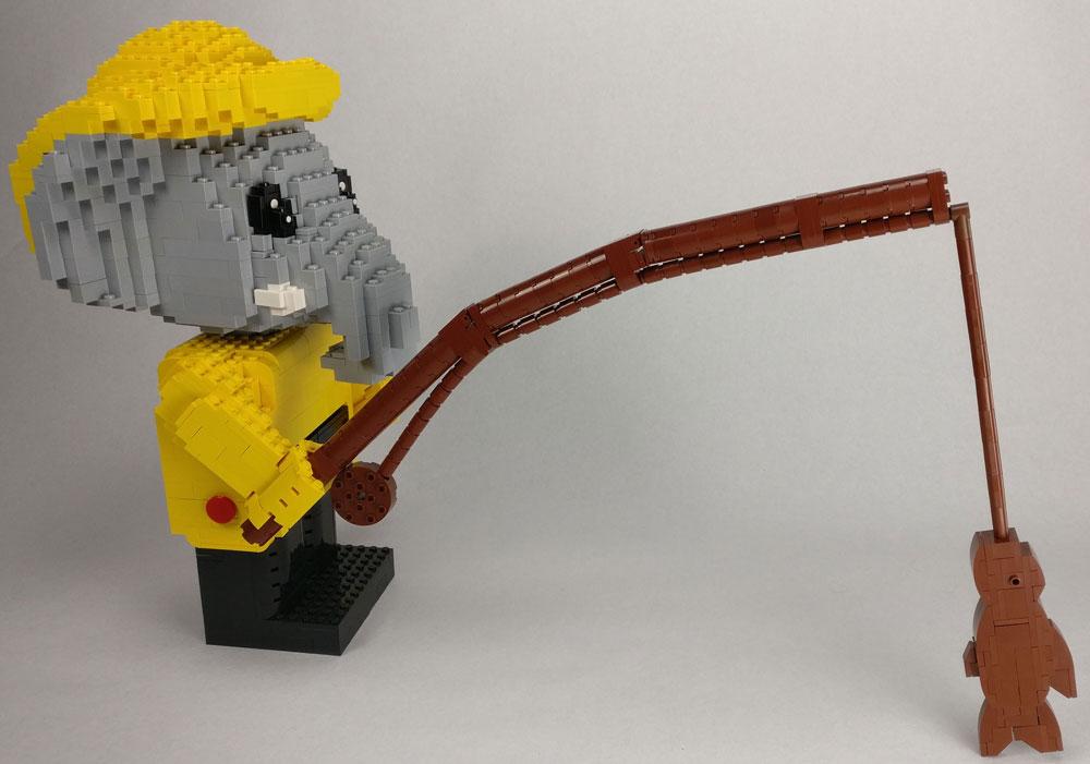 Lego Fabuland Maxifigs MOC Edward Elephant