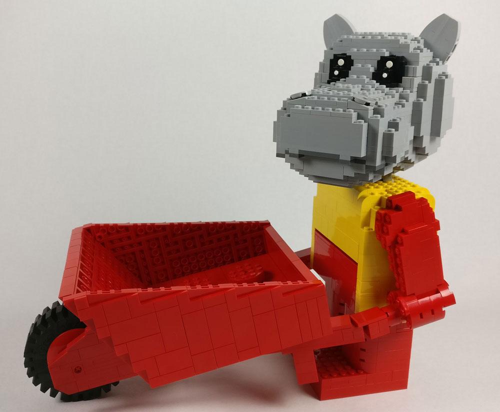 Lego Fabuland Maxifigs MOC Hannah Hippo
