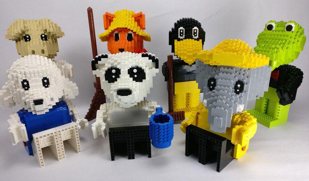 Lego Fabuland Maxifigs MOC Group 1