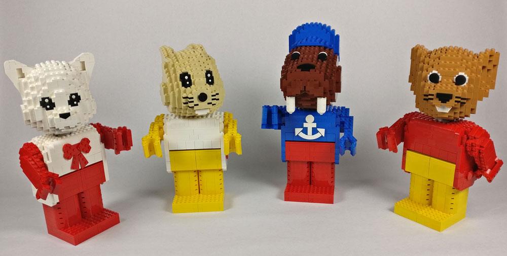 Lego Fabuland Maxifigs MOC Group 2