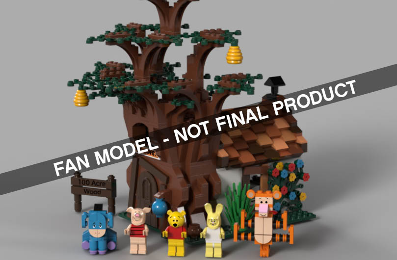 Winnie The Pooh Featured In New Lego Ideas Review