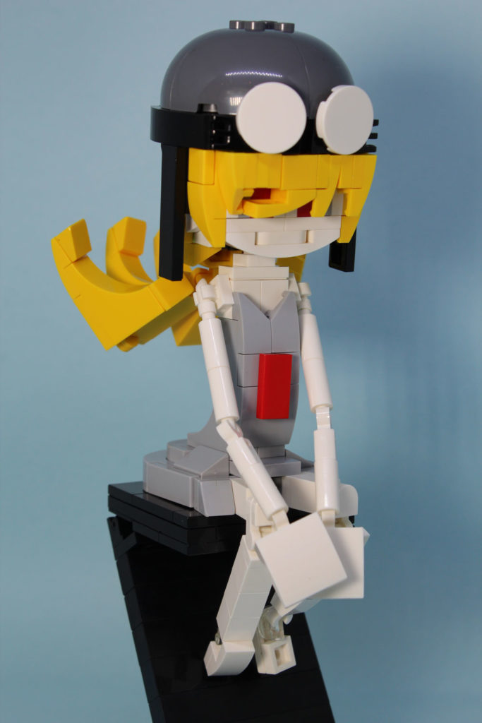 Lego Oshino Shinobu From Monogatari