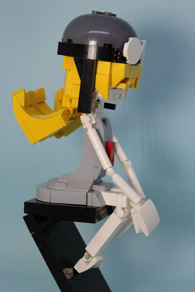 Lego Oshino Shinobu From Monogatari Side Details