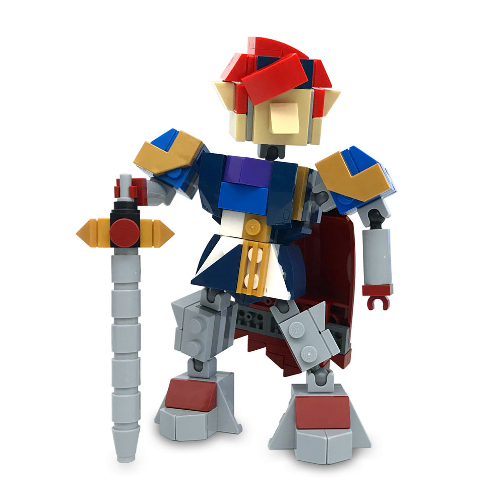 Lego Roy Is Ready To Fight In Smash Bros