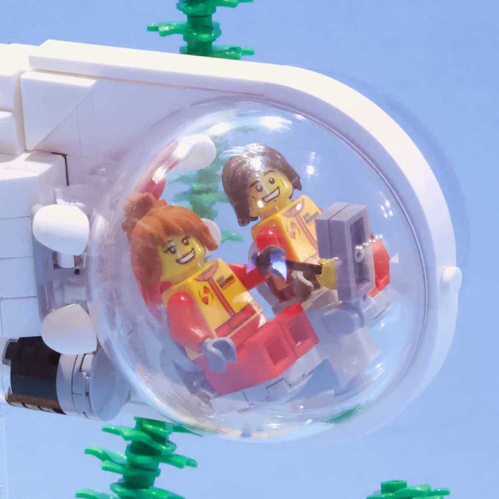 Lego Squid Sub Detail