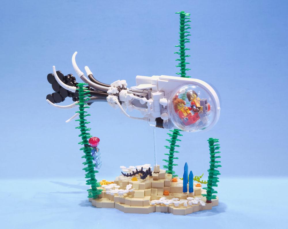 Lego Squid Sub