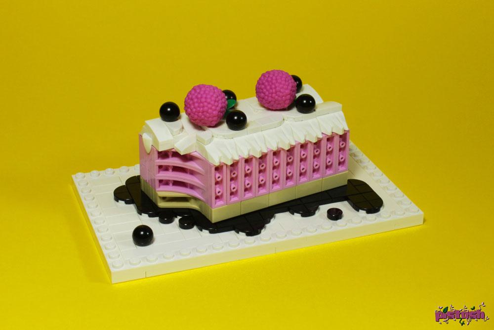 Lego Raspberry Cake