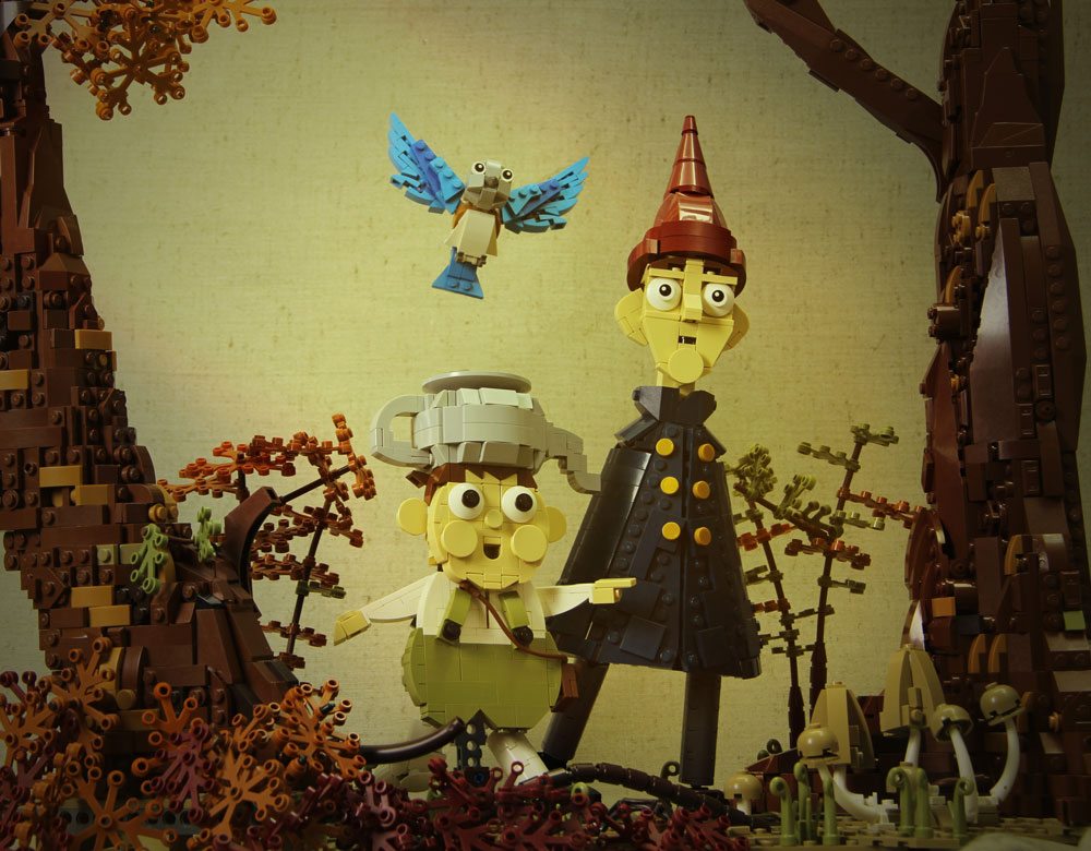 Over The Garden Wall Lego MOC