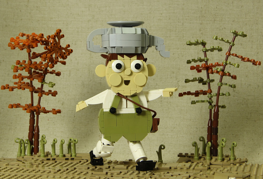 Over The Garden Wall Lego Greg