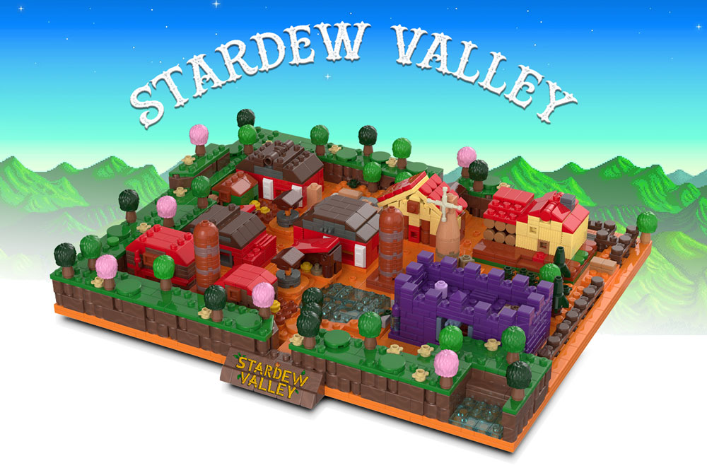 Lego Stardew Valley Farm MOC