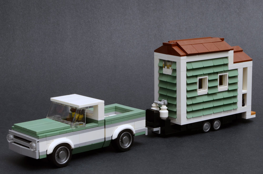 Lego Tiny House, 1970 Chevrolet C10 Truck