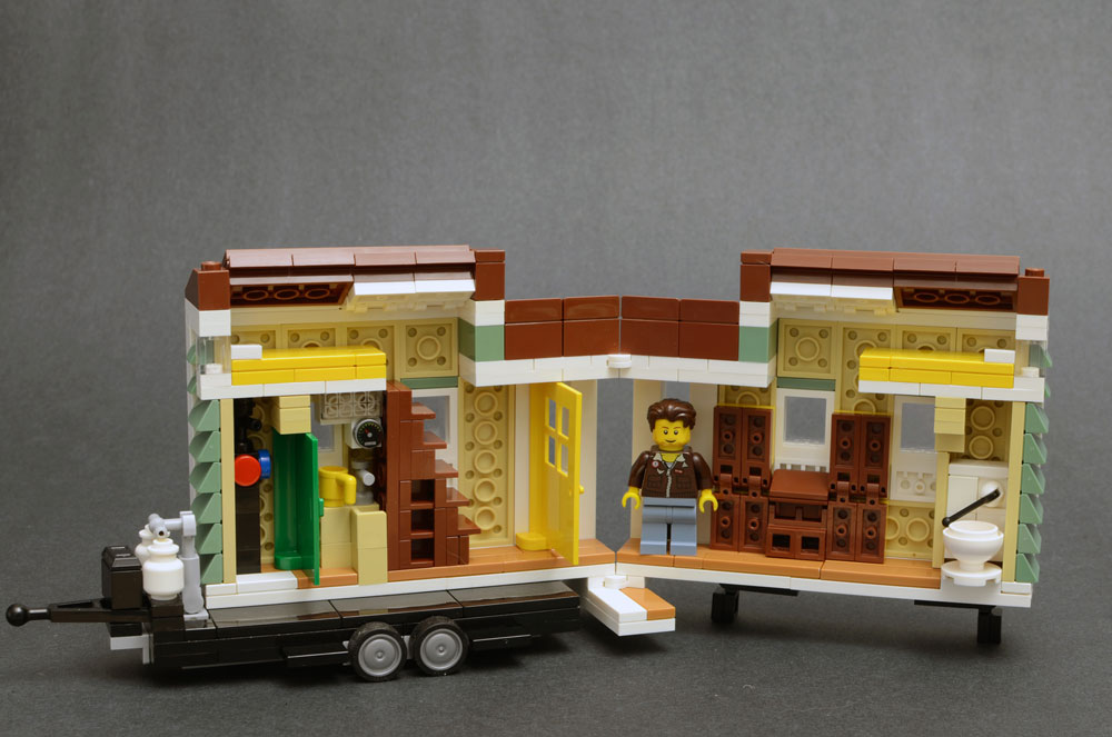 Lego Tiny House Interior