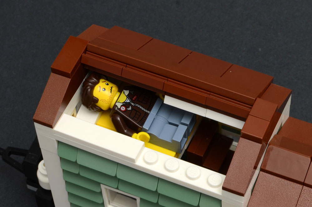 Lego Tiny House, Too Small, Bed