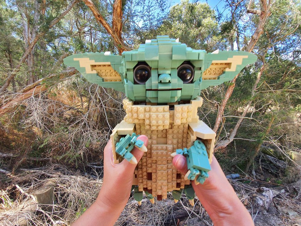 Lego MOC Baby Yoda Hands