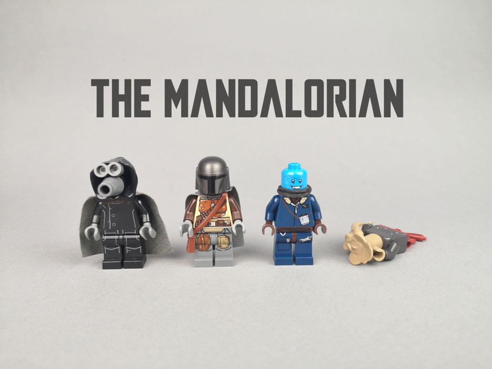 Mandalorian Characters Lego MOC