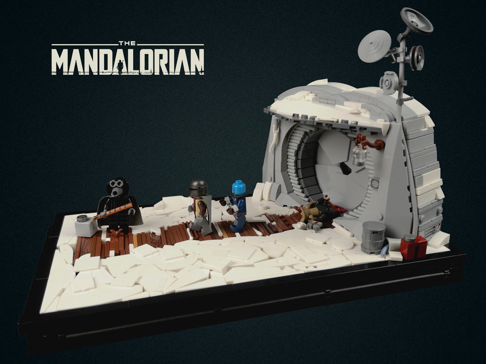 Chapter 1: The Mandalorian, A Lego MOC