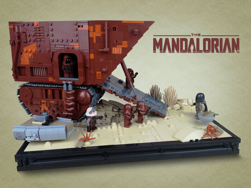Chapter 2: The Child, A Lego Mandalorian Star Wars MOC