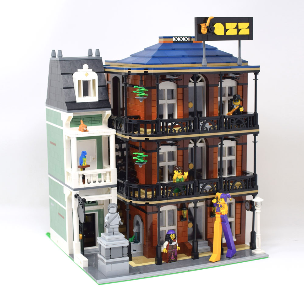 A Lego Modular New Orleans Jazz Club