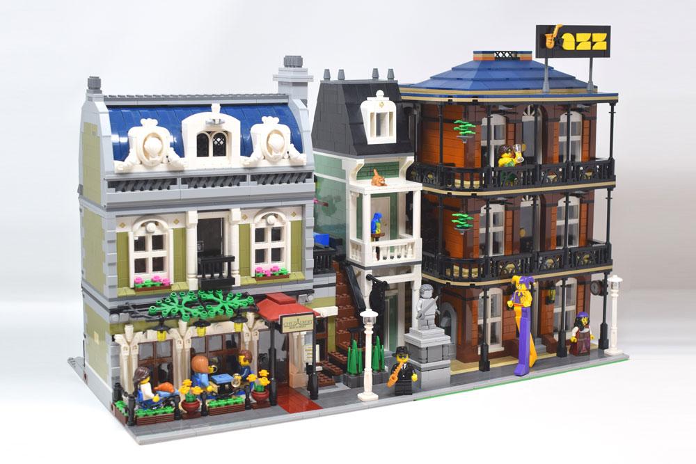 A Lego Jazz Club Street View