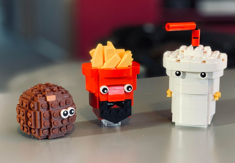 The Lego Aqua Teen Hunger Force