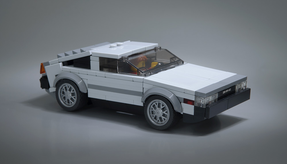 Lego Delorean Is Almost Outatime