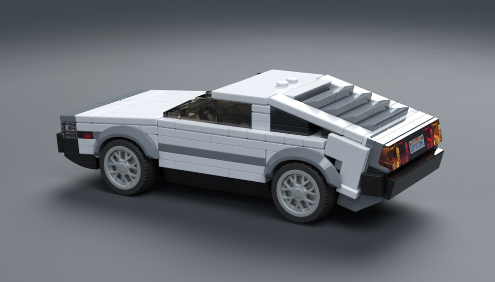Lego Delorean Car