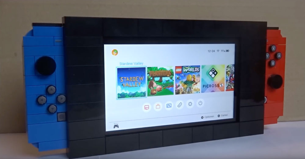 Play Some Games With A Lego Nintendo Switch And Dock Instructions