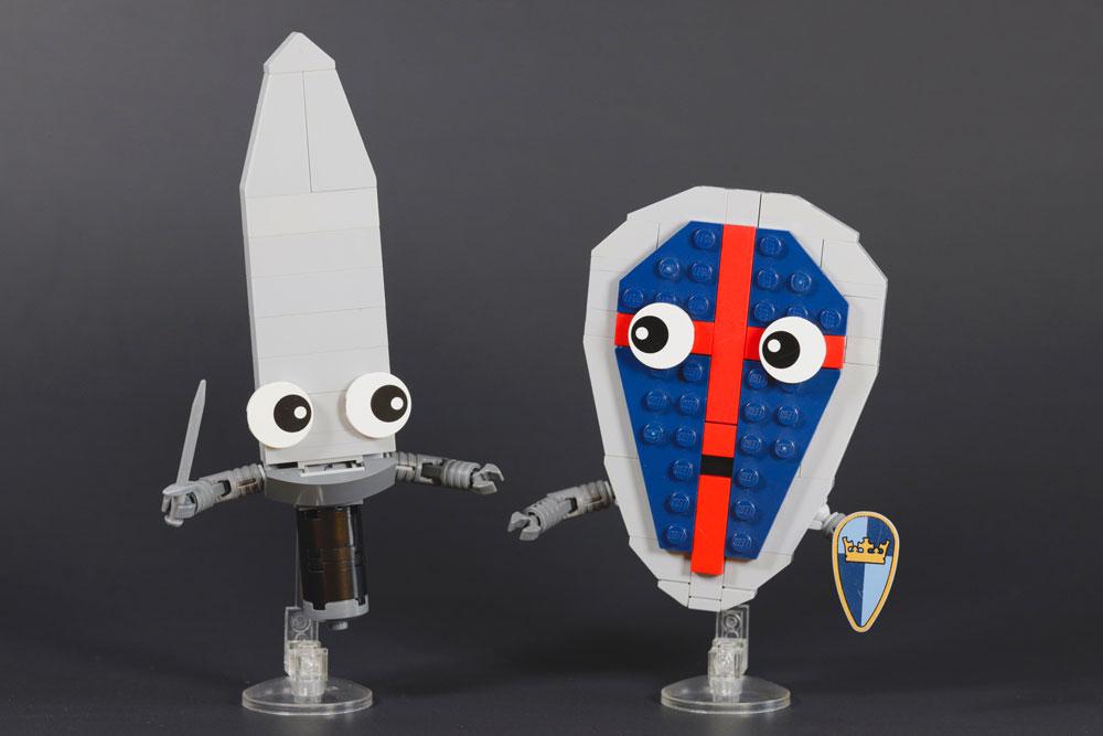 Deadly Cute Arthur And Tristan Lego MOC