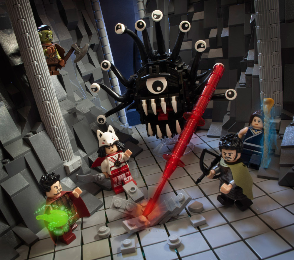 It's A Lego Beholder! Grab Your Sword, d20, And Fight.