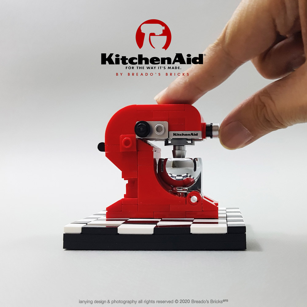 Every Kitchen Needs A KitchenAid Lego Stand Mixer
