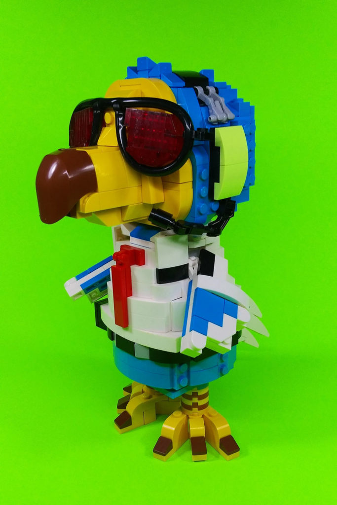 Dodo Airlines's Wilbur Is A Go - An Animal Crossing Lego MOC