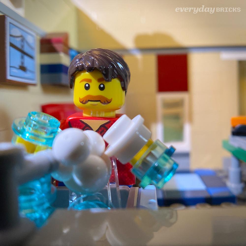 Everyday Bricks 00413: Wash Your Hands