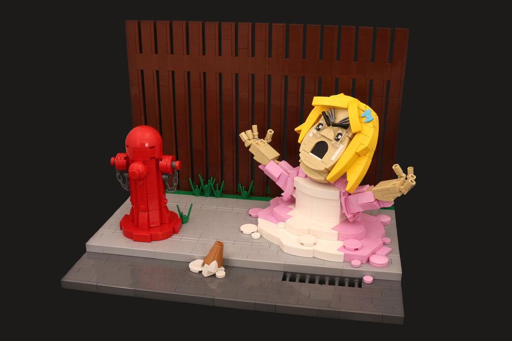 Lego Melt Down Over Ice Cream