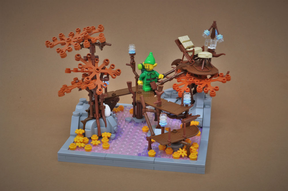 Lego Elf Retreat