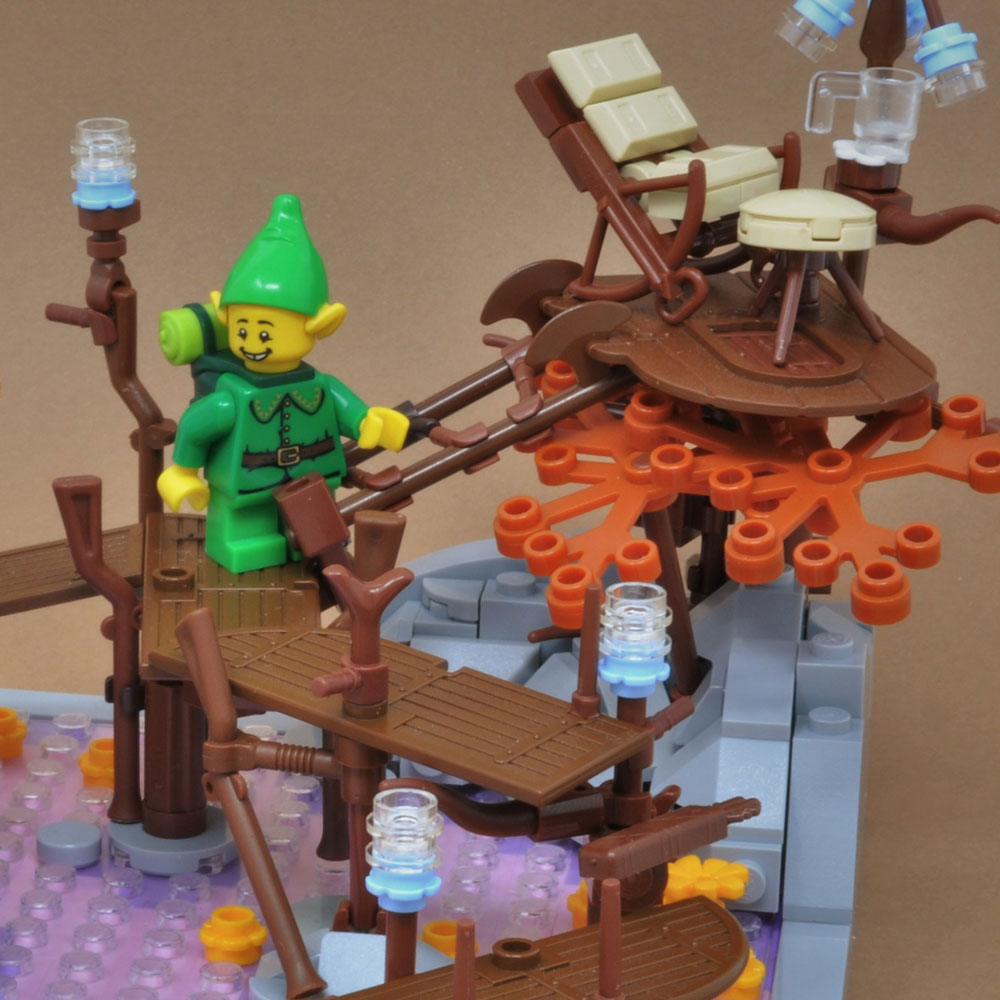 Lego Elf Retreat Detail