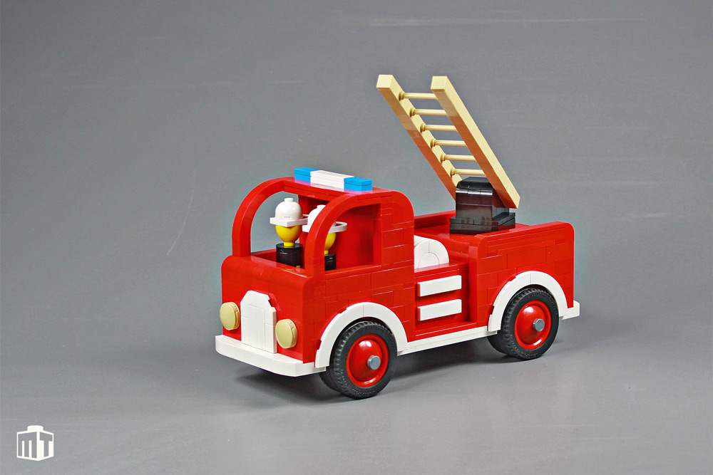 Wooden Fire Engine - Lego MOC