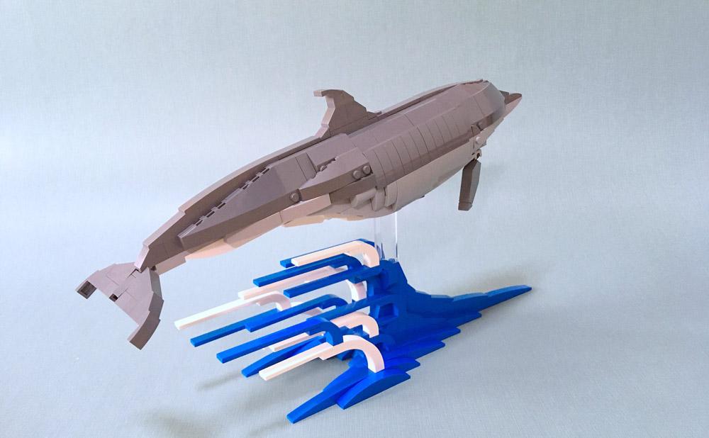 Lego Bottlenose Dolphin 2.0