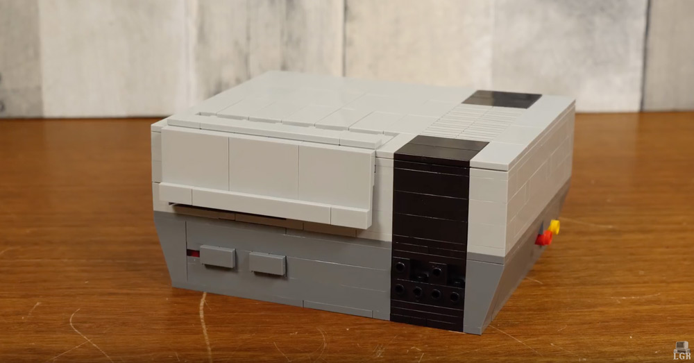 A Lego NES Raspberry Pi With LGR