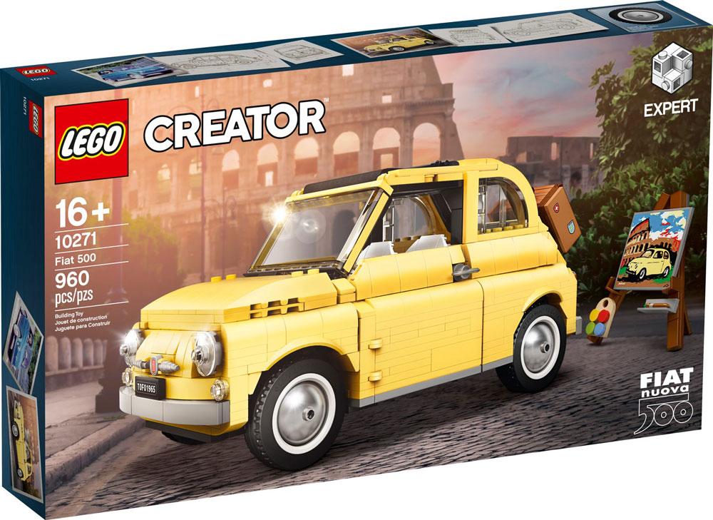 Fiat 500 Lego 10271 Box